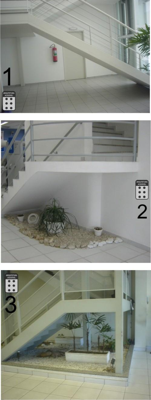 escada em balanço
