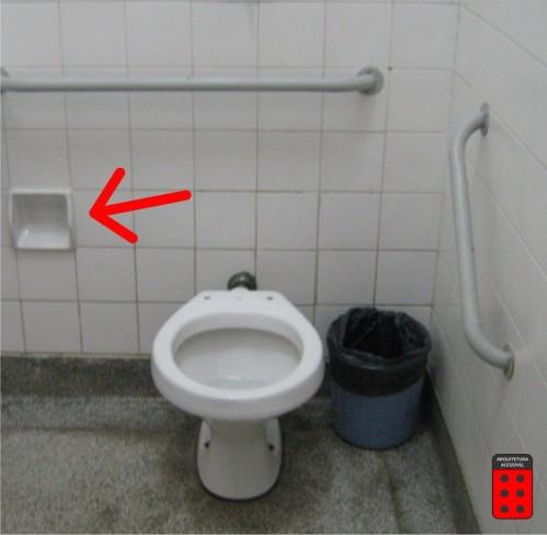 sanitário - papeleira