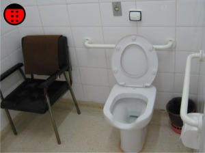 sanitario com cadeira