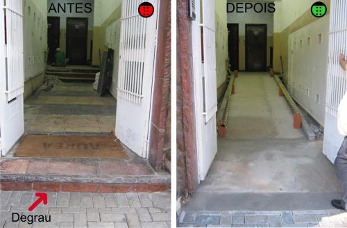 antes e depois edificio fail