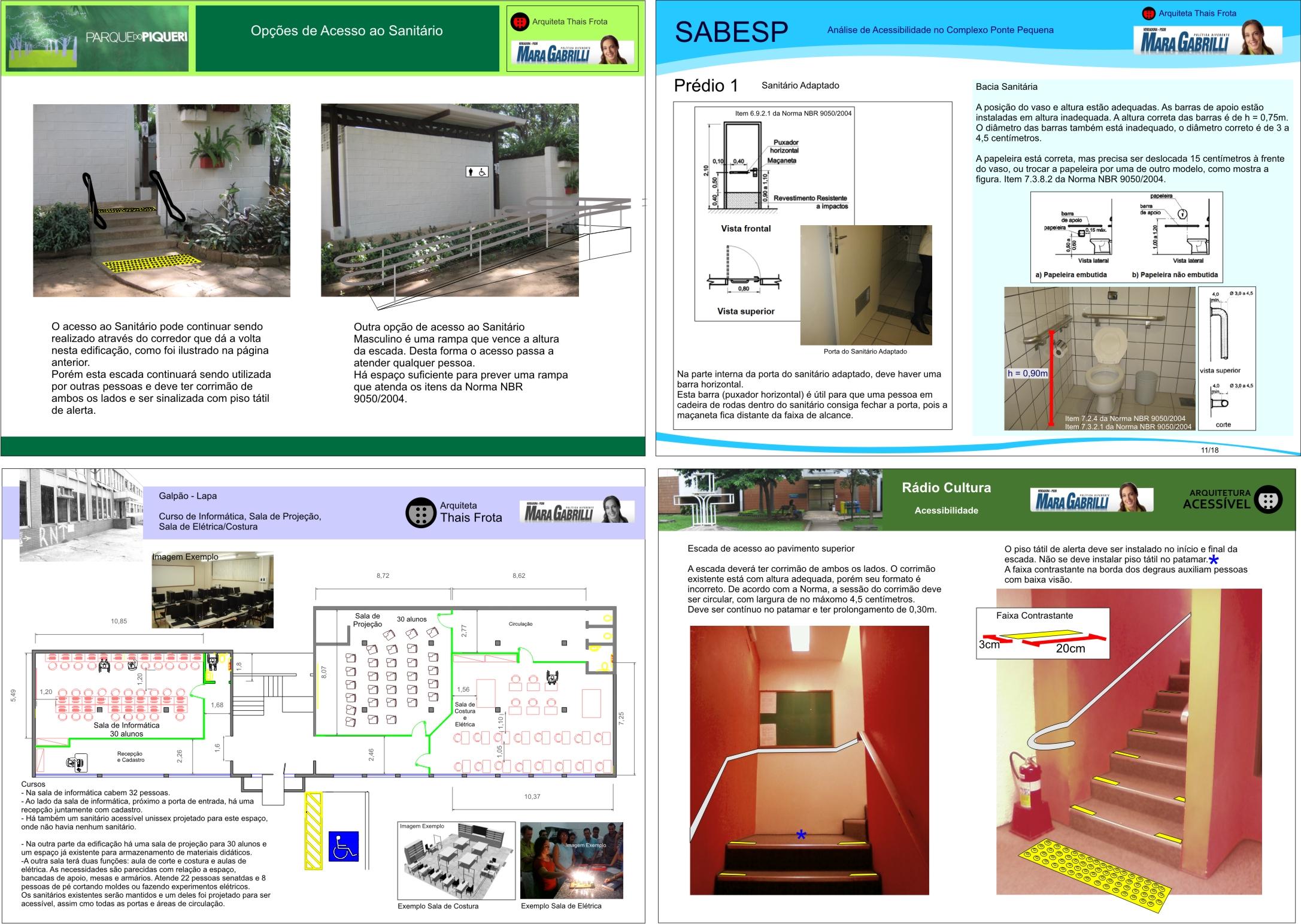 Vistoria e projeto de acessibilidade Arquitetura Acessível #019ACA 2173 1543