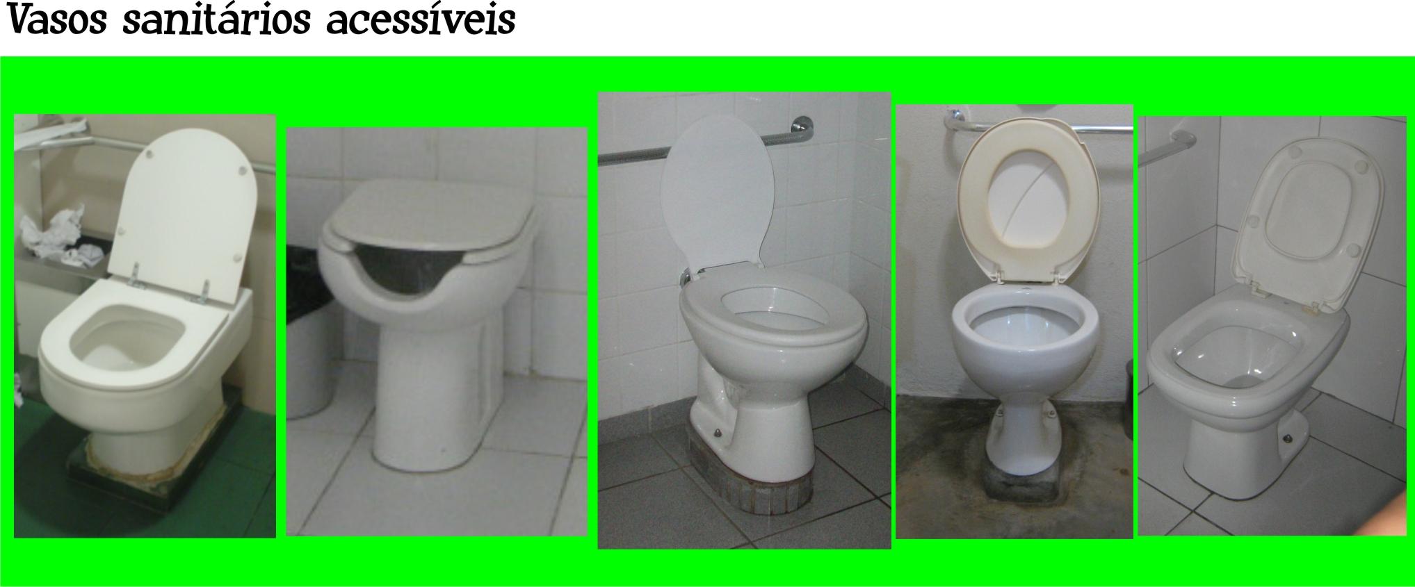 Veja alguns exemplos de vasos acessíveis: #04C704 2035x845 Adaptação Banheiro Cadeirante