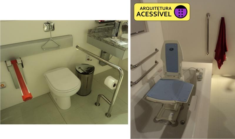 Casa Acessível  Arquitetura Acessível -> Pia Banheiro Acessivel